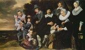 Bildnis einer zehnköpfigen Familie