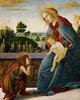 Madonna und Kind mit Johannes dem Täufer in einer Landschaft