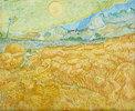 Die Ernte, Kornfeld mit Schnitter (La moisson)