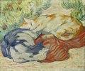 Katzen auf rotem Tuch