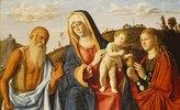 Maria mit dem Kinde und den hll.Maria Magdalena und Hieronymus