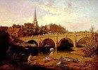 Blick auf Shrewsbury mit dem Fluß Severn