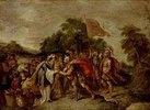 Die Begegnung von Abraham und Melchisedek