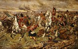Gordons und Greys an die Front!. Schlacht bei Waterloo