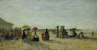 Strandszene in Trouville