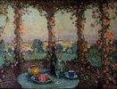 Das Tischlein auf der Terrasse