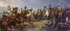 Napoleon Bonaparte in der Schlacht von Austerlitz