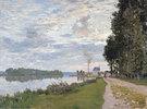 Die Uferpromenade bei Argenteuil