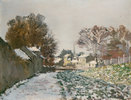 Schnee bei Argenteuil. / Neige a Argenteuil