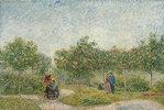 Garten mit Paaren: Square Saint-Pierre