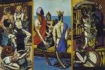 Triptychon Abfahrt. 1932/1933. Totale