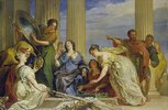 Odysseus entdeckt den als Mädchen verkleideten Achill