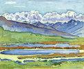 Landschaft bei Montan