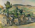 Hügelige Landschaft in der Provence