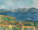 Die Bucht von Marseille, von L'Estaque aus gesehen