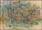 Bäume und Häuser, Provence
