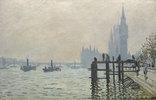 Die Themse bei Westminster
