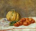 Melone und Tomaten