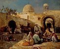 In einem arabischen Hof