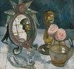 Stillleben mit venezianischem Spiegel