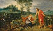 Christus erscheint Maria Magdalena am Ostermorgen (Noli me tangere)