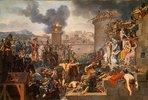 Die Belagerung einer Stadt durch Metellus. Entstanden