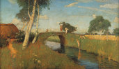 Sommer am Moorkanal