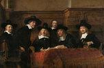 Porträt der Vorsteher der Tuchmacherzunft in Amsterdam