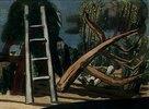 Landschaft mit Holzfällern