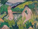 Mädchen am Wasser (Zwei Mädchen am Wasser)