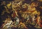 Ein Göttermahl (Die Hochzeit von Peleus und Thetis?)