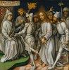Sogenannte Graue Passion: Christus vor Kaiphas