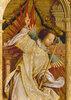Verkündigungsengel. Detail von der Flügelaußenseite des Sebastians-Altars