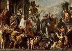 Paulus und Barnabas in Lystra