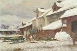 Schwedischer Hof im Winter