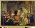 Die Gründung der katholischen Liga 1609. Skizze