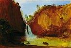 Der Wasserfall von Regla. Anfang 1830-er Jahre