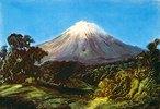 Der Popocatépetl. Anfang 1830-er Jahre