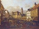 Die Freyung in Wien, Ansicht von Südost