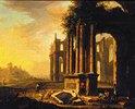 Italienische Ruinenlandschaft II