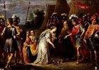 Armida vor Gottfried von Bouillon