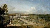 Das kaiserliche Lustschloß Schönbrunn, Gartenseite