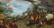Seeschlacht und Schiffbruch