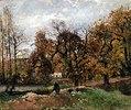 Herbstlandschaft bei Louveciennes
