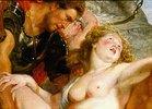 Detail aus dem Gemälde Raub der Töchter des Leukippos