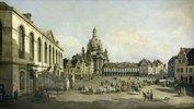 Der Neumarkt zu Dresden, vom Jüdenhofe gesehen