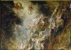 Höllensturz der Verdammten. Detail oben mitte