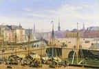 Blick vom Gammel Strand zur Börse von Kopenhagen