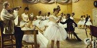 Die Ballettschule des königlichen Theaters