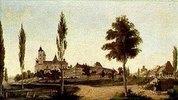 Das Kloster Ottobeuren von Westen